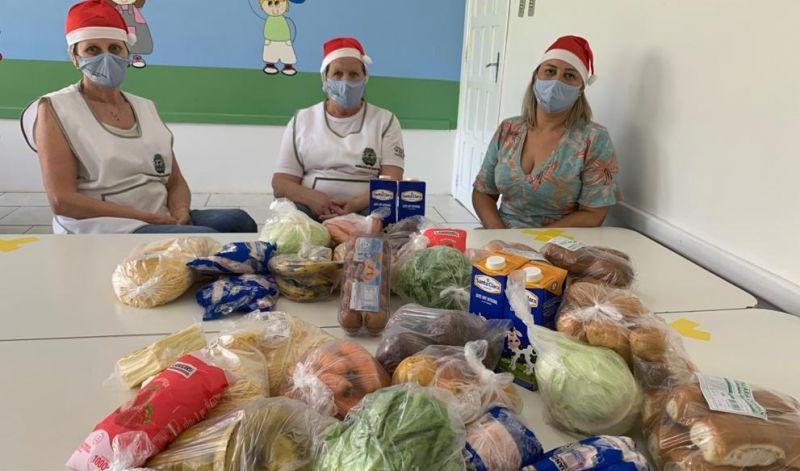 Foto de capa da notícia: Secretaria de Educação conclui projeto da alimentação com mais de 4 mil kits distribuídos em Guaporé
