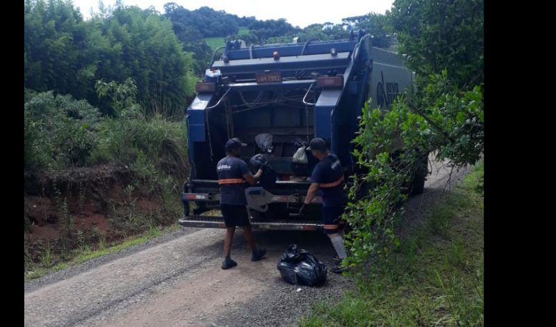 Foto de capa da notícia: Programa de Coleta de Resíduos Secos evita degradação do meio ambiente na zona rural de Guaporé