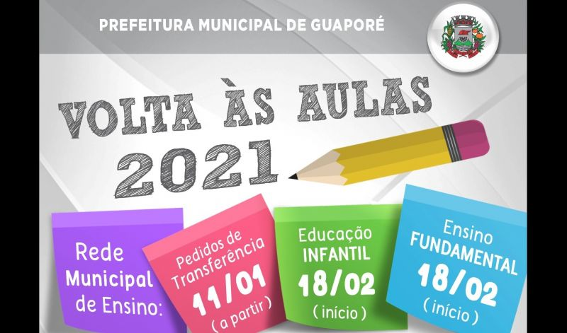 Foto de capa da notícia: Secretaria de Educação prepara volta às aulas em Guaporé