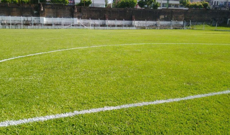 Foto de capa da notícia: Campo do Juventude está pronto para o retorno da Copa do Brasil de Guaporé