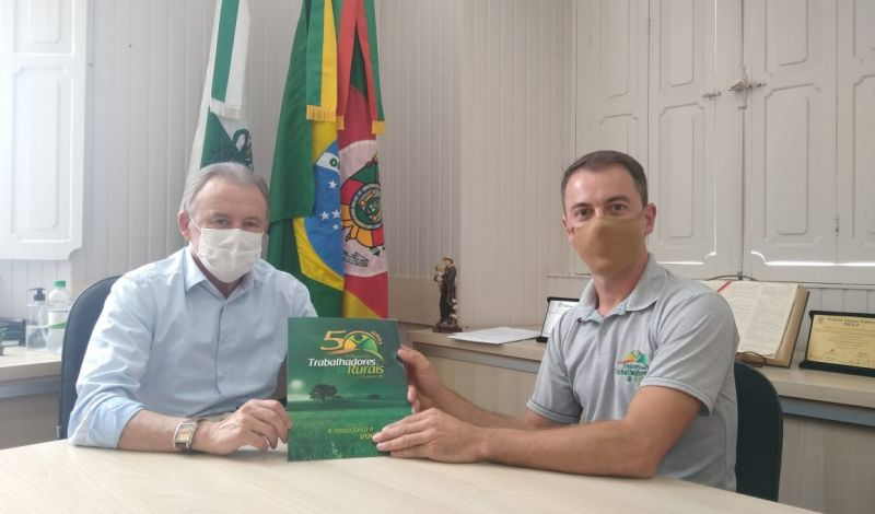 Foto de capa da notícia: Setor primário: Prefeito Fabris apoia luta dos agricultores