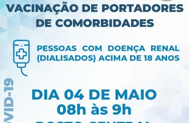 Foto de capa da notícia: Vacinação contra a Covid-19: Guaporé vacina grupos com comorbidades