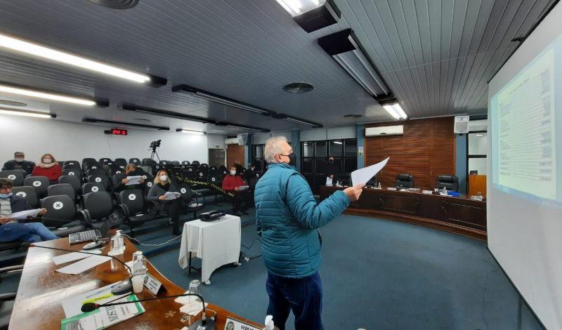 Foto de capa da notícia: Poder Executivo apresenta relatório das metas fiscais na Câmara de Vereadores