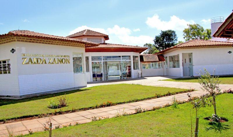 Foto de capa da notícia: Administração Municipal investe na ampliação da Escola de Ensino Fundamental Zaida Zanon