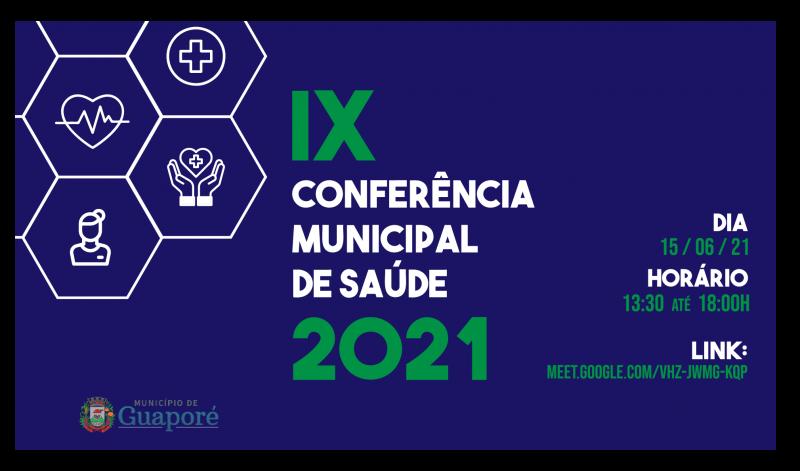 Foto de capa da notícia: IX Conferência Municipal da Saúde