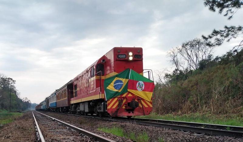 """Foto de capa da notícia: Guaporé será palco para o lançamento dos passeios da Edição 2021 do """"Trem dos Vales"""""""