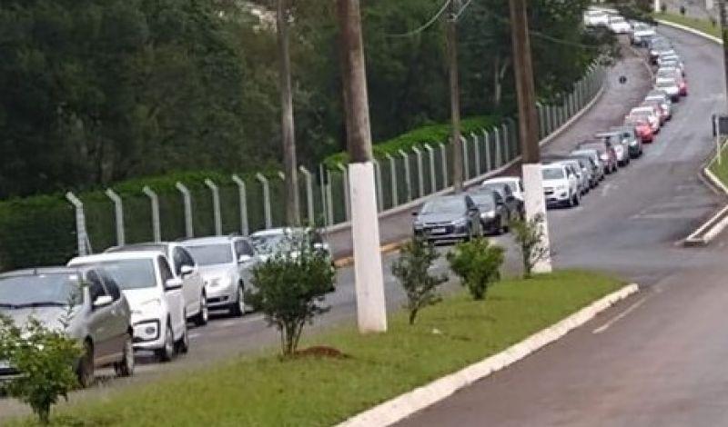 Foto de capa da notícia: Contra a Covid-19 Vacinação de 450 pessoas aconteceu neste sábado em Guaporé