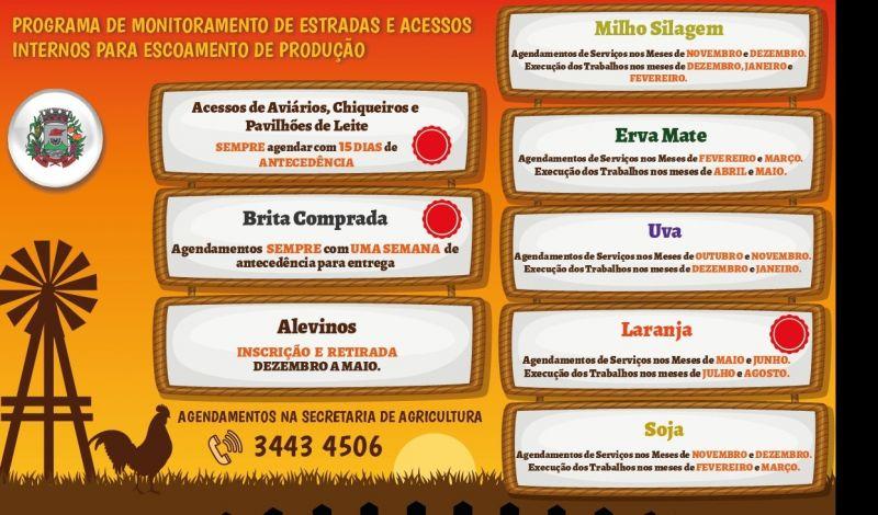 Foto de capa da notícia: Setor Primário: Cronograma de atendimento facilitará parceria Poder Público e produtor rural