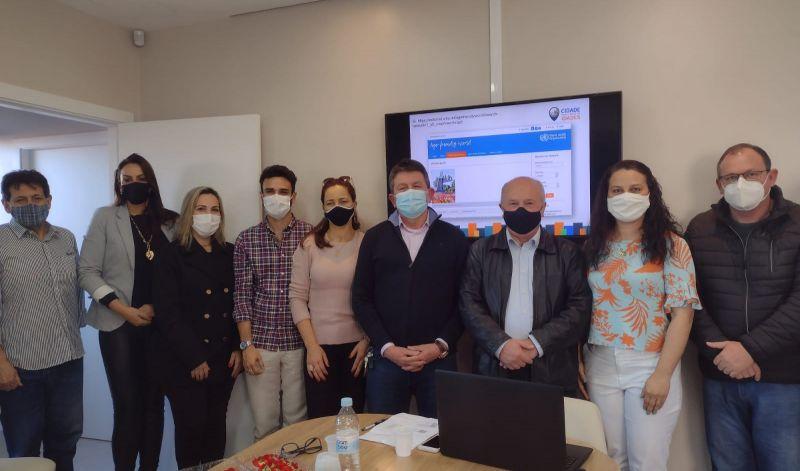 Foto de capa da notícia: Guaporé presente em reunião sobre Saúde do Idoso em Veranópolis
