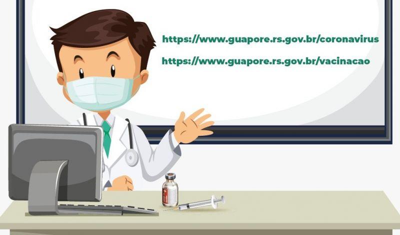 Foto de capa da notícia: Vacinação avança: Guaporé vacina público alvo de 33 anos ou mais contra a Covid-19