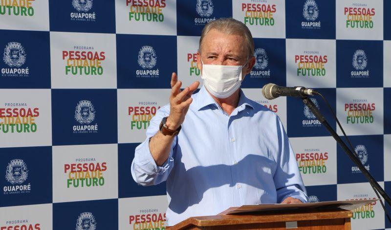 Foto de capa da notícia: Após revitalização, rua João Manoel Pereira é entregue oficialmente à comunidade pela Administração Municipal