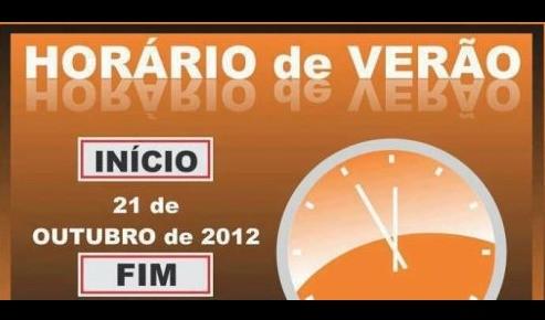 Foto de capa da notícia: Horário Brasileiro de Verão 2012/2013
