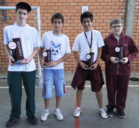 Foto de capa da notícia: Escola Municipal Dr. Jairo Brum realiza, com sucesso, 3º Torneio de Xadrez