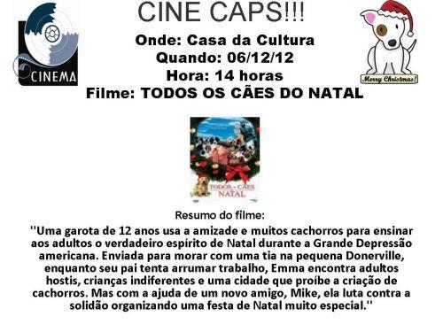 """Foto de capa da notícia: Cine CAPS apresenta o filme \""""Todos os cães do Natal\"""""""