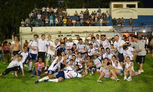 Foto de capa da notícia: São José, Hórus/Edaulo e Guaporé F.C. comemoram conquista do Campeonato Municipal