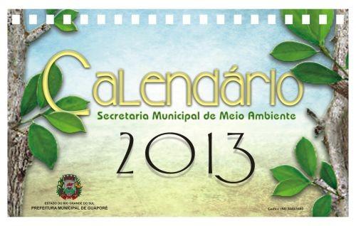 Foto de capa da notícia: Calendários de Meio Ambiente 2013 são entregues