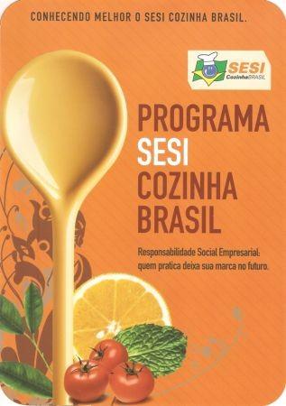 Foto de capa da notícia: Programa SESI Cozinha Brasil em Guaporé