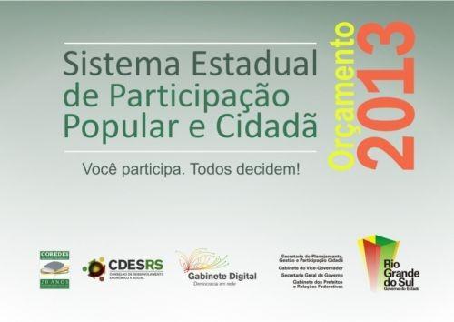 Foto de capa da notícia: Consulta Popular 2013/2014