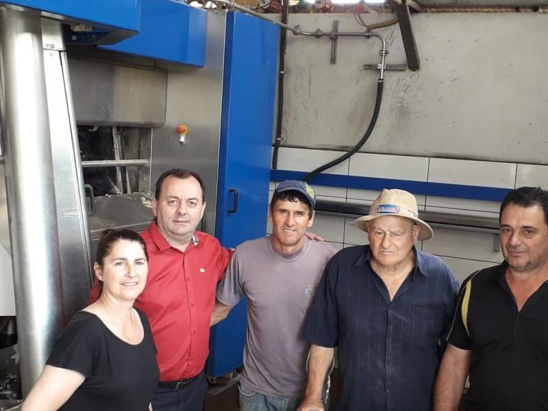 Foto de capa da notícia: Secretaria da Agricultura realiza visitas às propriedades