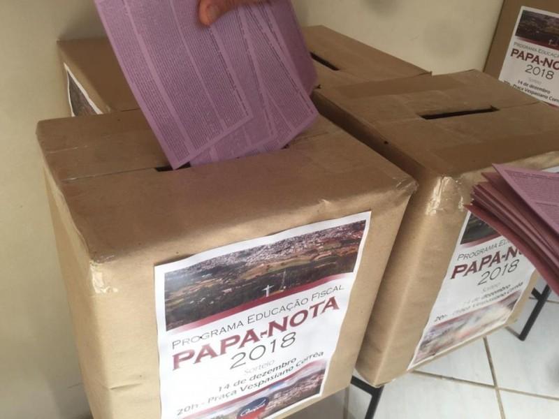 Foto de capa da notícia: Último dia para troca de notas fiscais no Papa Notas