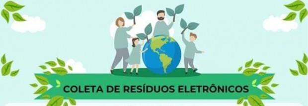 Foto de capa da notícia: Secretaria de Meio Ambiente realiza a 2ª coleta de resíduos eletrônicos