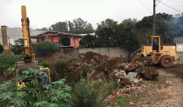 Foto de capa da notícia: Limpeza do Arroio Barracão: Período de inverno requer maior atenção e prevenção