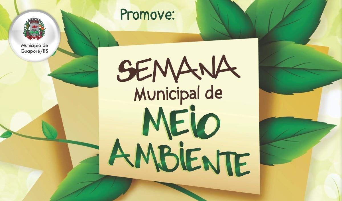 """Foto de capa da notícia: Semana do Meio Ambiente tem como tema """"Caminhos para a Sustentabilidade"""""""