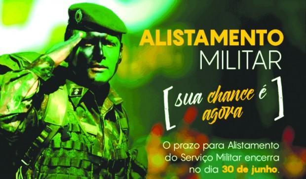 Foto de capa da notícia: Alistamento militar deve ser realizado em junho