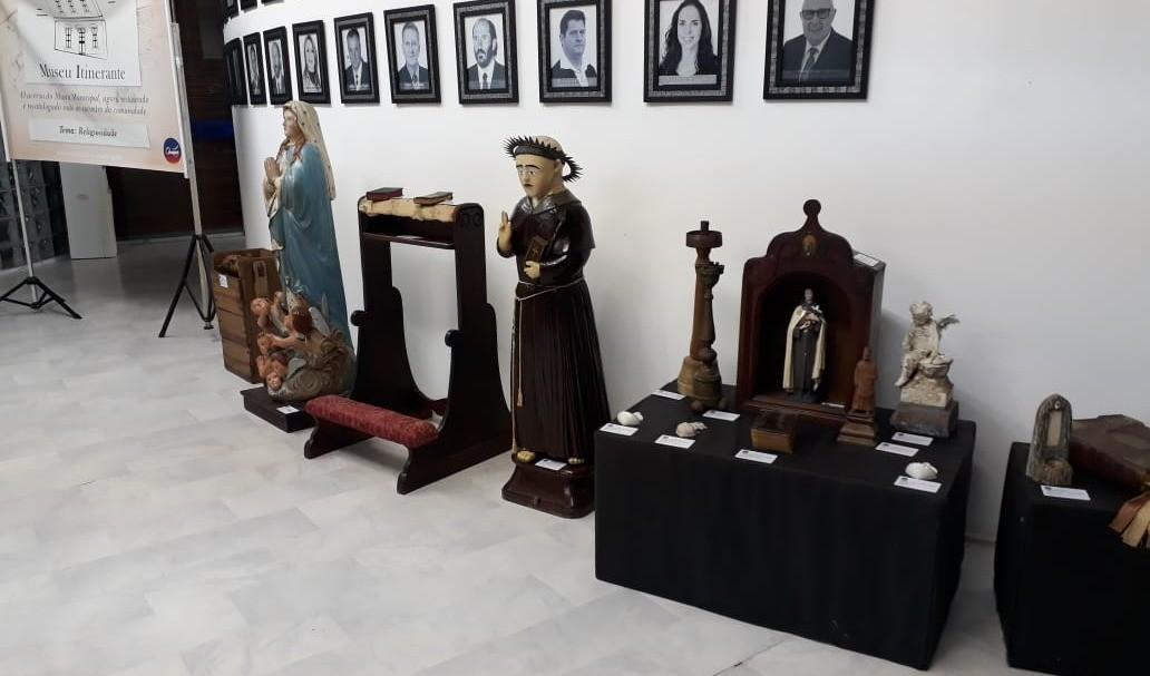 Foto da Notícia Museu Itinerante está na Câmara de Vereadores