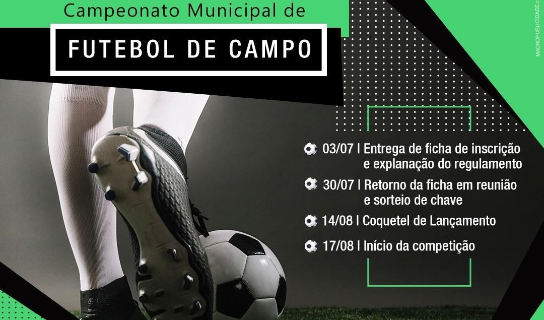 Foto da Notícia Congresso Técnico entregará fichas para o Campeonato Municipal de Guaporé