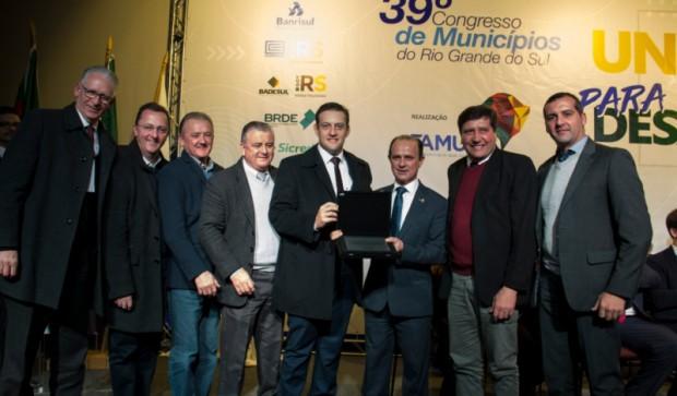Foto de capa da notícia: Guaporé presente na 39ª edição do Congresso de Municípios do Rio Grande do Sul