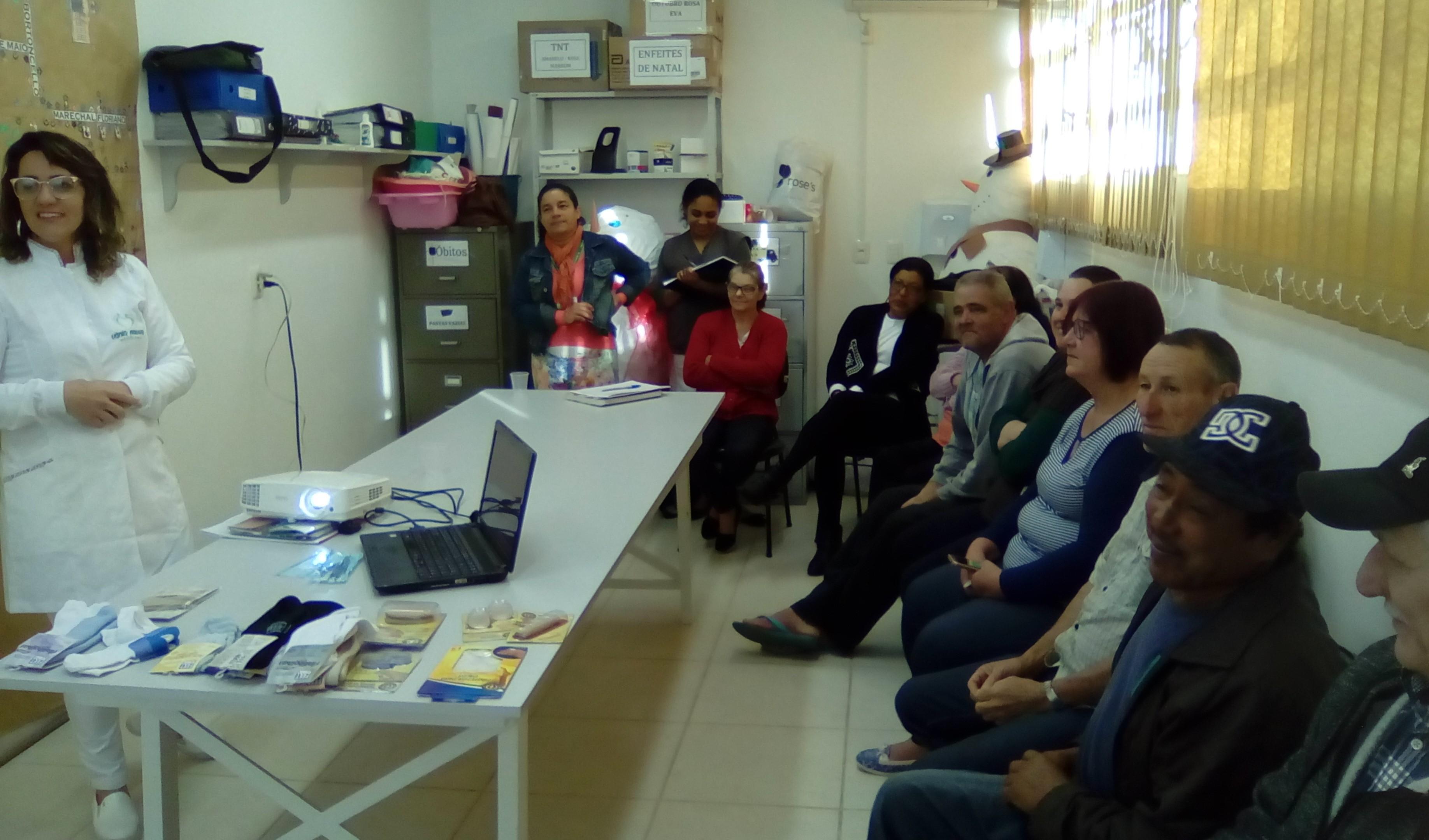 Foto da Notícia Dia Mundial de Combate ao Diabetes foi marcado por palestra e ações preventivas