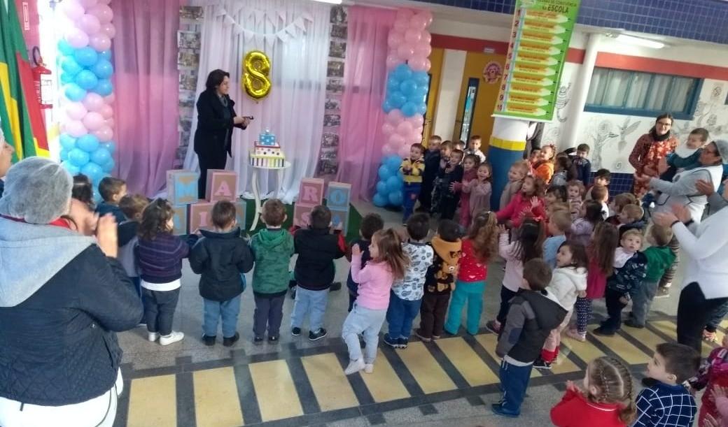 Foto da Notícia Escola Maria Rosa Ferreira completa oito anos dedicados a Educação