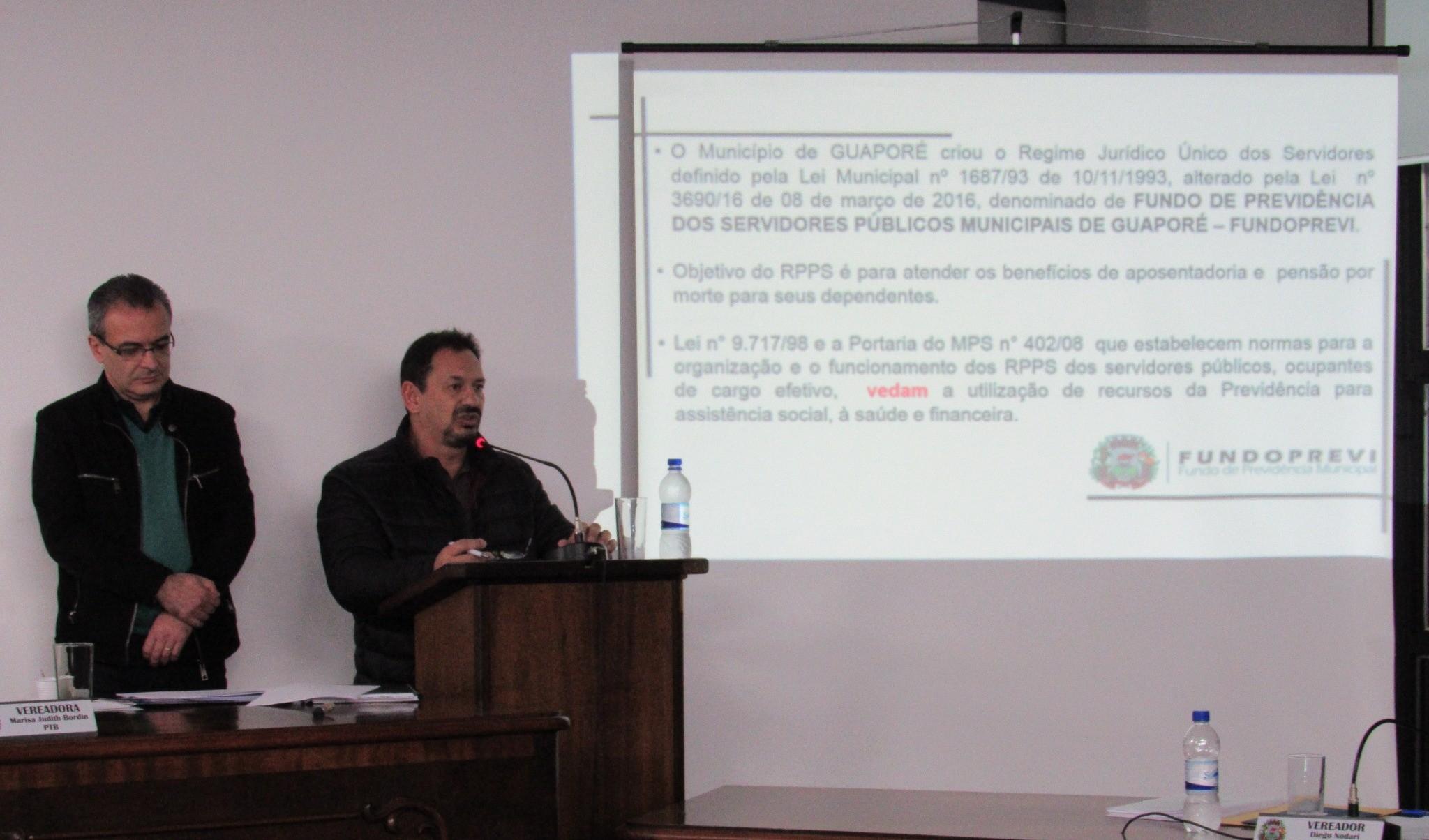 Foto de capa da notícia: Fundo Municipal de Previdência ultrapassa os R$ 100 milhões em Guaporé