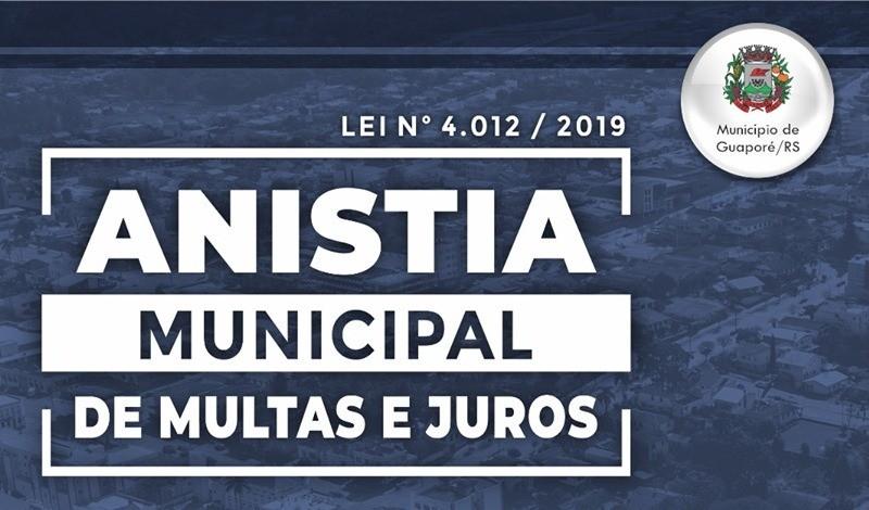 Foto de capa da notícia: Últimos dias da Anistia Municipal de Multas e Juros: Avance com Guaporé!