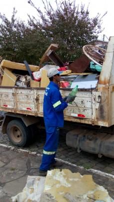 Foto de capa da notícia: Eco Móvel: toneladas de lixo com destinação correta