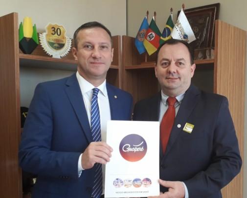 Foto de capa da notícia: Vice-prefeito leva reivindicações de Guaporé à Capital Federal