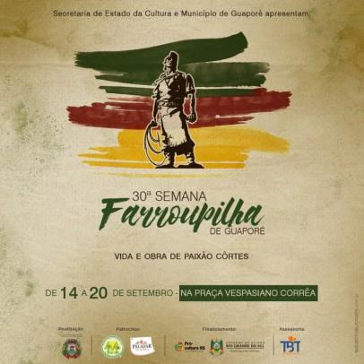 Foto de capa da notícia: Poder Público divulga programação da 30ª Semana Farroupilha