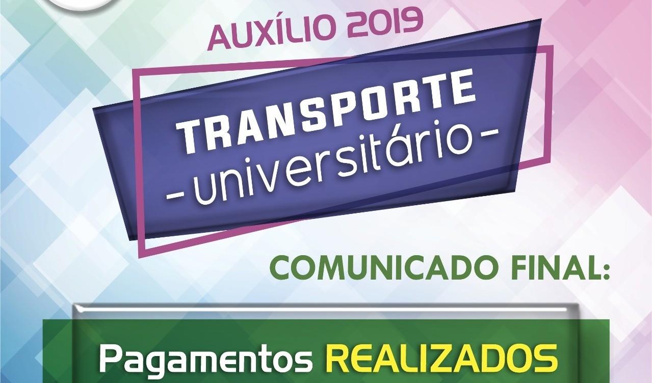 Foto de capa da notícia: Benefício Universitário: Finalizados os depósitos na conta dos estudantes