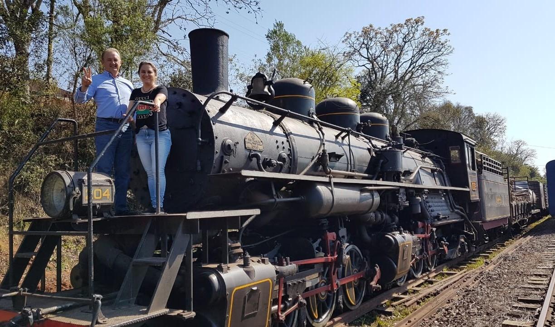 Foto de capa da notícia: Contagem regressiva para o Trem dos Vales