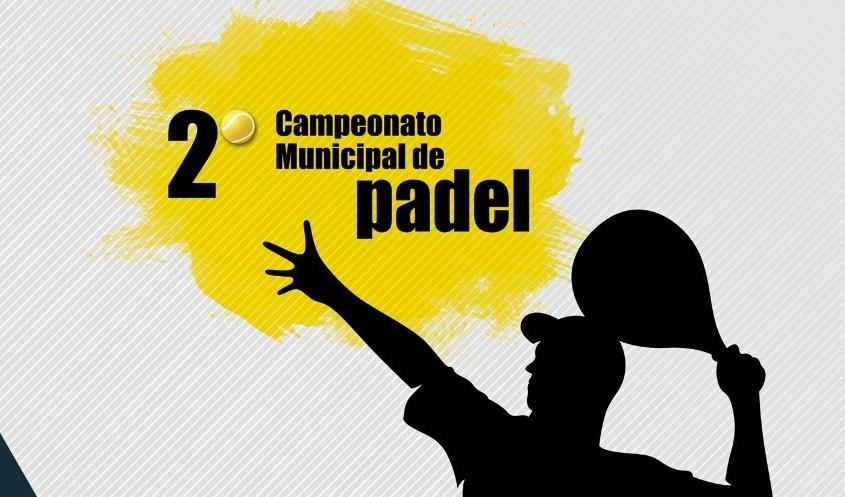 Foto de capa da notícia: Poder Público e A.R. Padel realizam o 2º Campeonato do Municipal de Padel