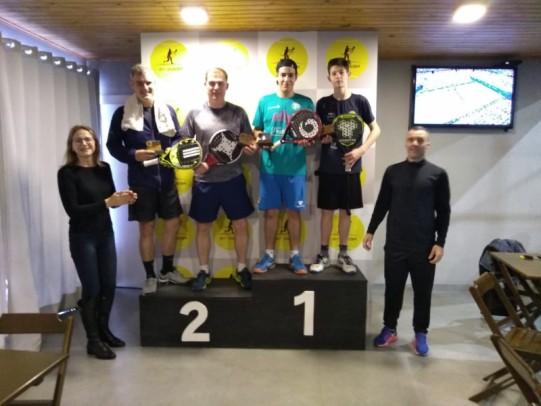 Foto de capa da notícia: Rafinha e Gutho conquistam o título na 1ª etapa do Municipal de Padel