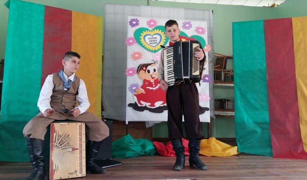 Foto de capa da notícia: Escola Mônica realiza atividades na Semana Farroupilha