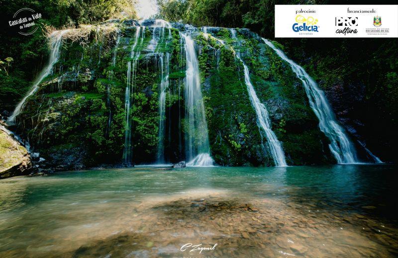Foto Salto do Taquara – Guaporé No Arroio Taquara