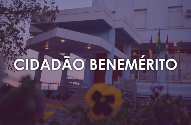 Foto de capa Cidadão Benemérito