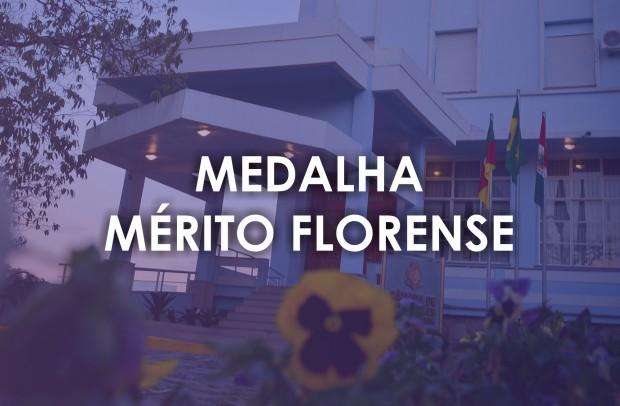 Foto de capa Medalha Mérito Florense