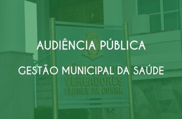 Foto de capa da notícia: Audiência Pública - Relatório de Gestão Municipal da Saúde 1º quadrimestre de 2020