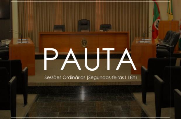 Foto de capa da notícia: Pauta - Sessão Ordinária (29.06.2020 - 18h)
