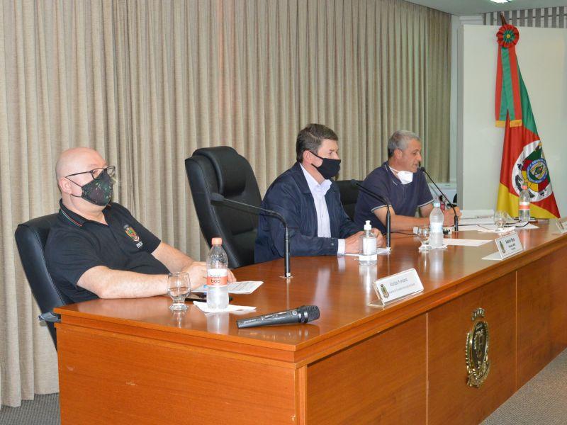 Foto de capa da notícia Audiência Pública apresenta investimentos em Saúde no segundo quadrimestre.