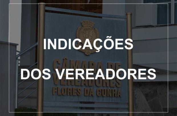 Foto de capa da notícia: Indicações dos Vereadores ( Sessão ordinária 13.10.2020)